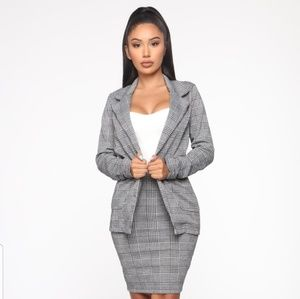 Fashion Nova You Already Know Skirt Set